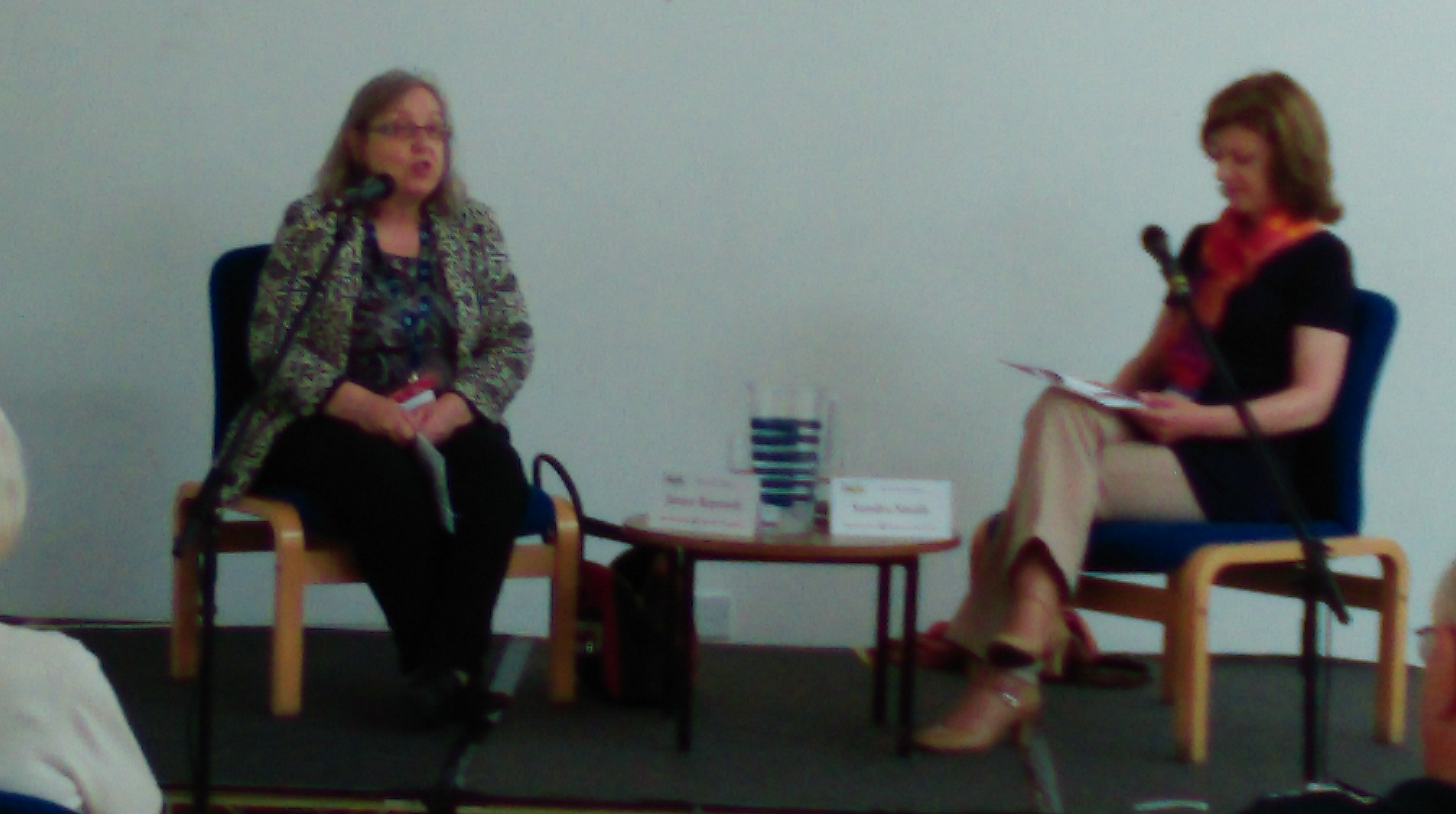 The Day Ended With An Absorbing Chat Between Emma Darwin And Liz Harris On Writing Outside Box In Historical Fiction